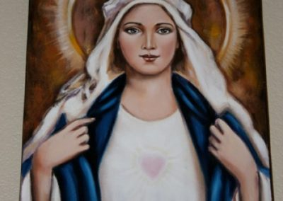 Spiritual Energy Healing by Healing Channels mary painted by sirlei lerner 1 400x284 - Healing Room
