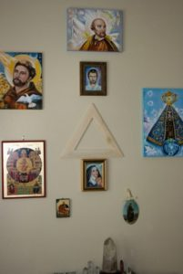 Spiritual Energy Healing , John of God , & Soul Retrieval by Healing Channels sacred triangle above altar 1 201x300 - sacred-triangle-above-altar
