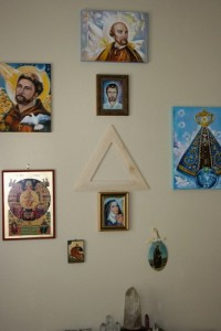 Spiritual Energy Healing , John of God , & Soul Retrieval by Healing Channels sacred triangle above altar 200x300 - sacred-triangle-above-altar