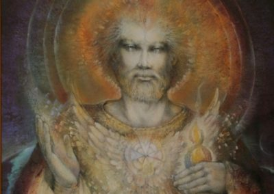 Spiritual Energy Healing by Healing Channels st germain by susan seddon boulet 1 400x284 - Healing Room